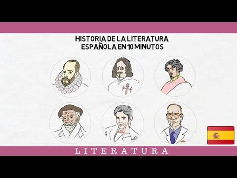 toda-la-literatura-de-espaÑa-en-sólo-10-minutos