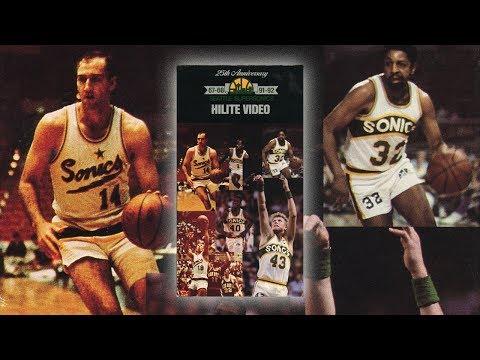25th Anniversary Seattle SuperSonics Hilite Video