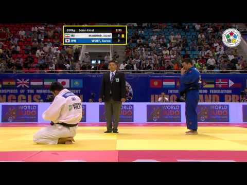 Aaron Wolf vs Javad Mahjoub Grand-Prix Ulaanbaatar 2015