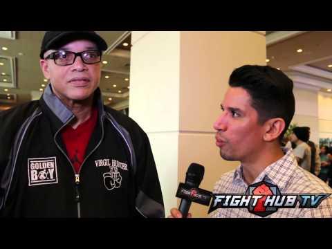 "Virgil Hunter on Mayweather/Maidana "" Same ole' fight like Baldomir, same ole guys"""