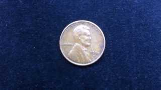 Coins : USA Penny 1950 S Coin aka Wheat Penny or Lincoln Penny