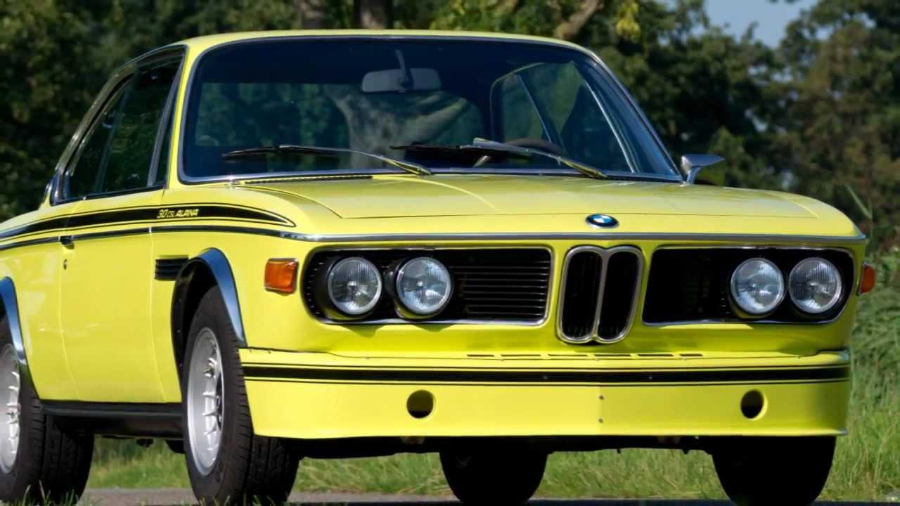 Rare original 1971 BMW 3.0 CSL Alpina B2S (HD photo video with ...