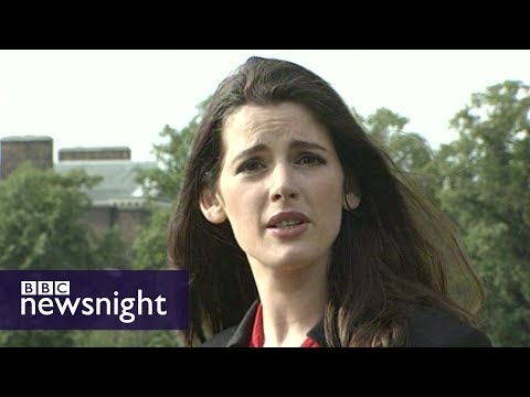 Nigella Lawson reports on the death of Princess Diana in 1997 - Newsnight Archives