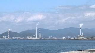 【寄り道四国】瀬戸内海の風景~四国中央市寒川