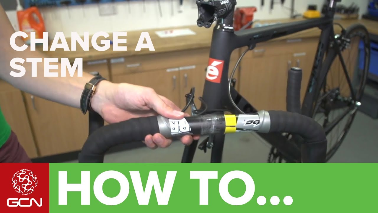 How To Change A Stem Bicycle Mechanics Youtube