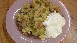 Картофельная бабка - видео рецепт