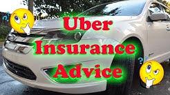 Uber / Lyft / Rideshare insurance advice 2017