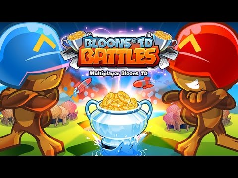 Bloons TD Battles: Won 4 games in a row!!