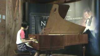 Bach three-part invention #3 on Steinway No.1 replica