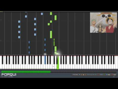 One Piece Opening 2  Believe Synthesia