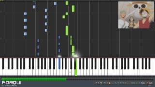 One Piece Opening 2 - Believe (Synthesia)
