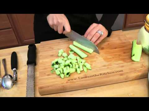 How To Make Couscous Salad - Recipe By Laura Vitale - Laura In The Kitchen Ep 98
