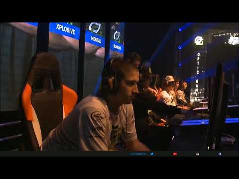 GHOST GAMING vs OPTIC GAMING  final Gears Pro Circuit MLG mexico City