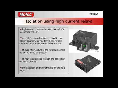 PDM and battery isolators