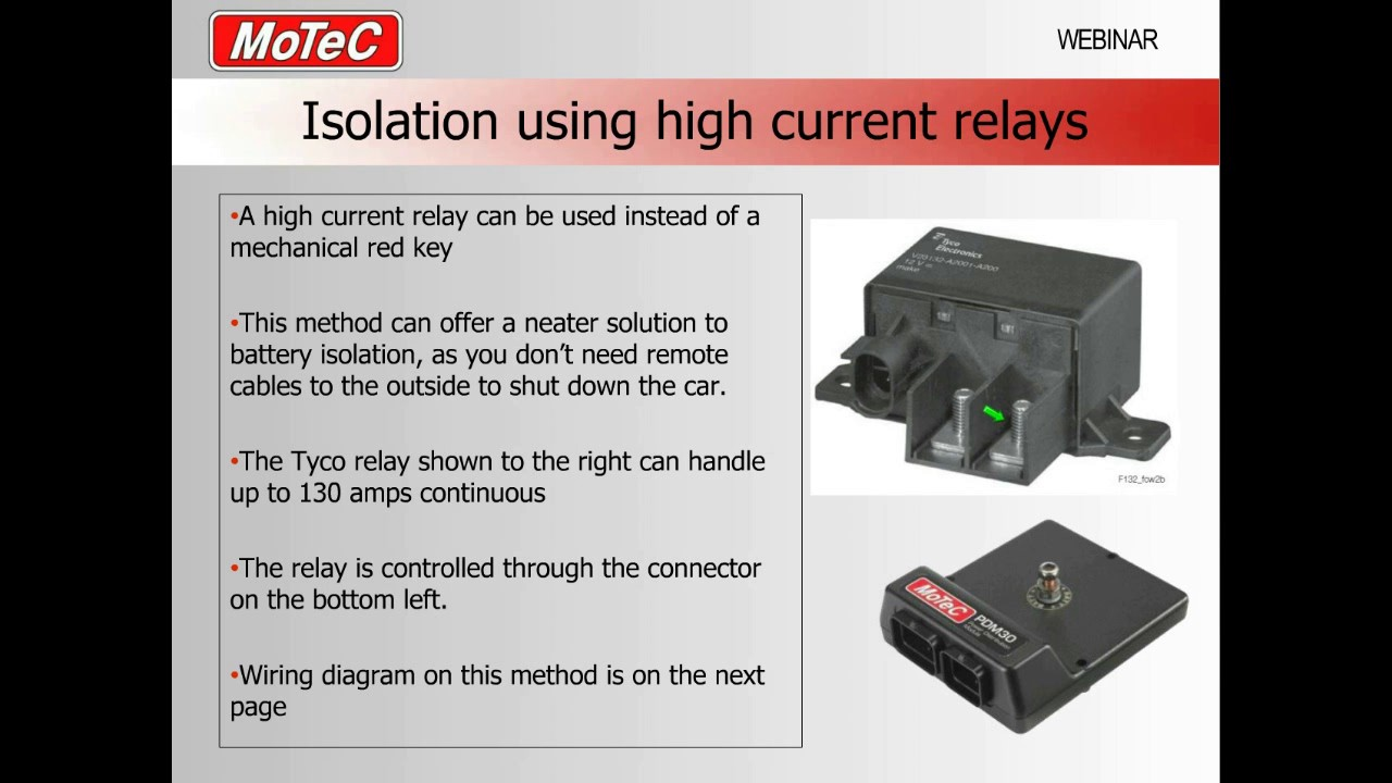 medium resolution of how to wire pdm battery isolation