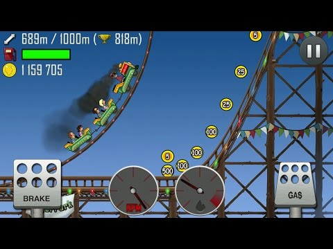 Hill Climb Racing Android Gameplay #13