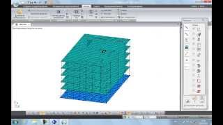 ЛИРА-САПР 2013. Технология проектирования здания с чистого листа до чертежей КЖИ.