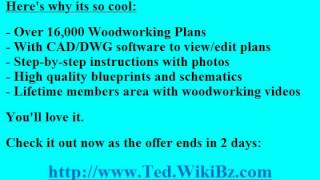 Teds Woodworking Online Coupon Code