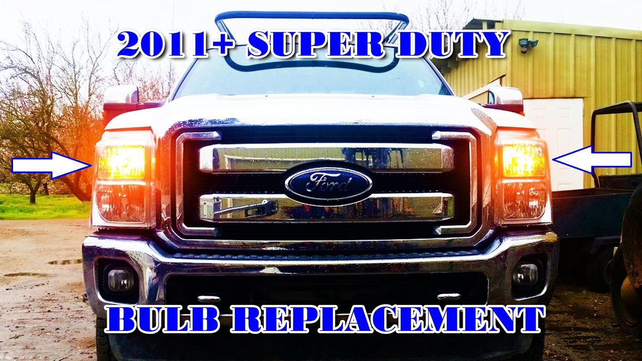2011 Amp Up Super Duty Front Turn Marker Bulb Replacement