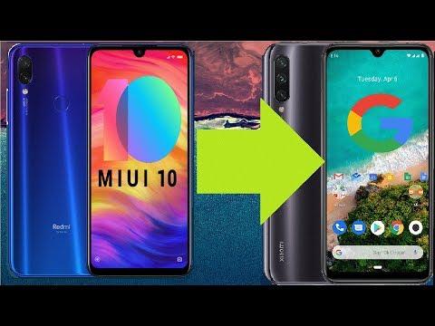 Redmi Note 7 - Usuwanie MIUI, Wgrywanie Czystego Androida