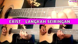 Download Lagu Exist - Langkah Seiringan (Akustik instrumental cover with lyric) cover mp3