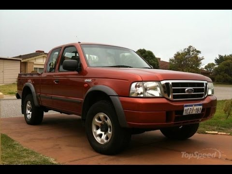 2003 - 2006 Ford Courier - YouTube