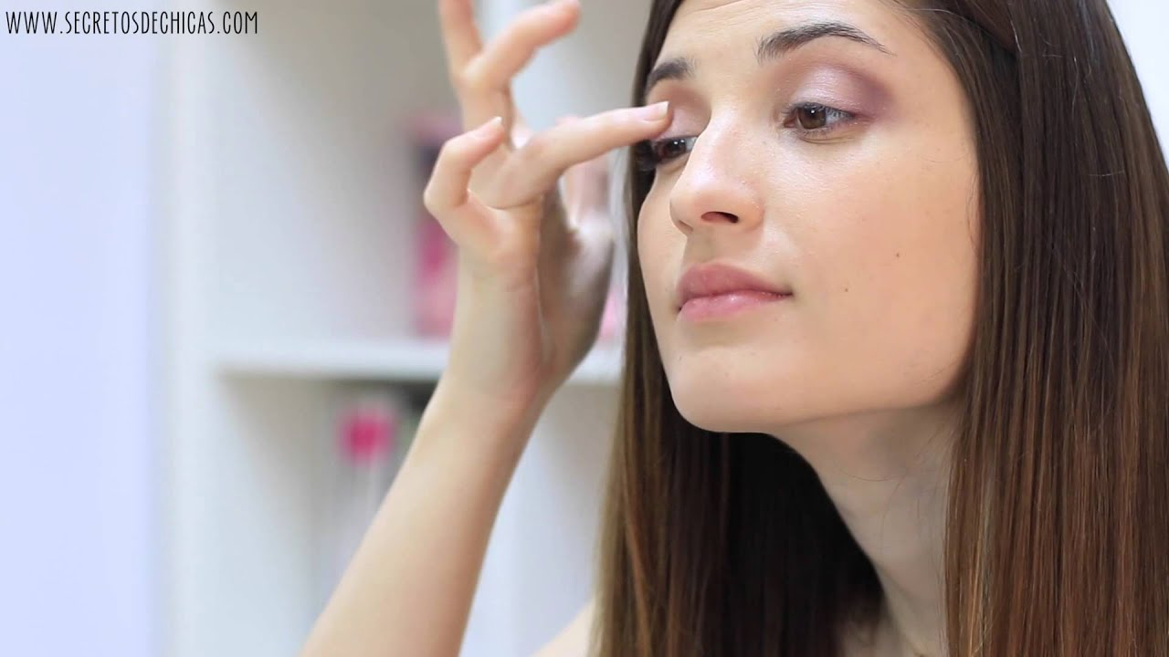 maquillaje para ojos natural