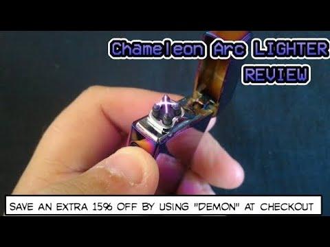Chameleon Plasma Arc ZLighter REVIEW