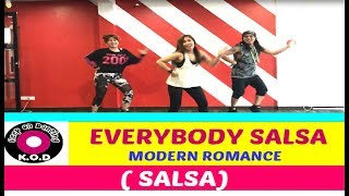 EVERYBODY SALSA BY MODERN ROMANCE |SALSA |80'S |ZUMBA ® | KEEP ON DANZING (KOD)