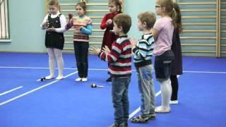 Открытый урок по ритмике, дошкольное отделение ММСШ им. Гнесиных