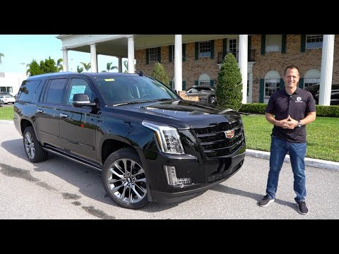 Is The 2020 Cadillac Escalade ESV BIGGER & BETTER Than The Navigator?