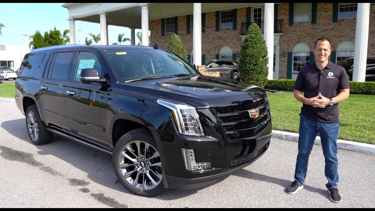 2020 Cadillac Ext Configurations