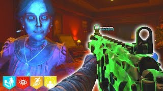 """DEAD OF THE NIGHT"" ZOMBIES EASTER EGG GAMEPLAY HUNT! // BLACK OPS 4 ZOMBIES"
