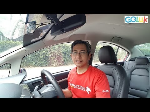 Unboxing And Installing A Dashcam 📹 On Proton Persona ★Goluk T1★ ★FullHD★
