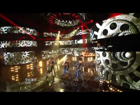 100% - Bad Boy, 백퍼센트 - 나쁜 놈, Music Core 20121006
