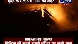 Fire breaks out in high-rise building under construction in Malad