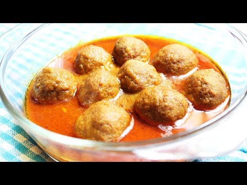 chicken kofta curry recipe vah chef youtube recipes