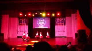 Radical GNO - Wiggle Wiggle ~ K-Pop World Festival 2015 – Romania Preliminary