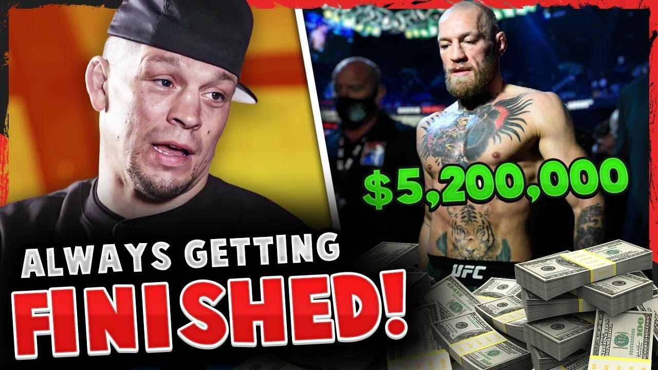 UFC 257 Fighter Salaries REVEALED! Nate Diaz RIPS Conor McGregor, Dana White on Khabib return