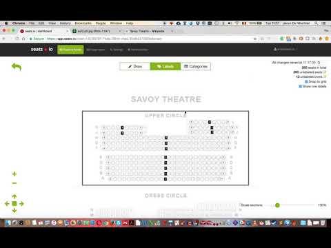 Seats.io, Floor Plan Designer Demo