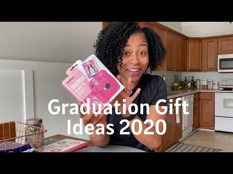 Graduation Gift Ideas 2020 | Quarantine Grad Celebration | DIY Gift Basket 🎓