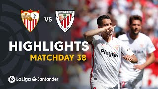 Highlights Sevilla FC vs Athletic Club (2-0)
