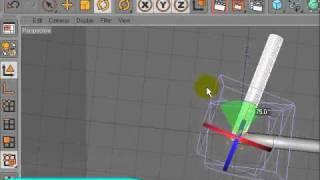 Cinema 4D   модификатор Bend Видео урок   Uroci net   Безплатни компютърни уроци