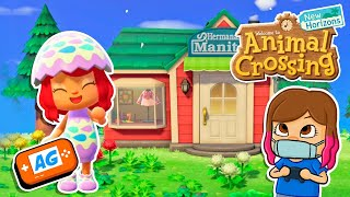 La TIENDA de ROPA ! Animal Crossing New Horizons en Abrelo Game