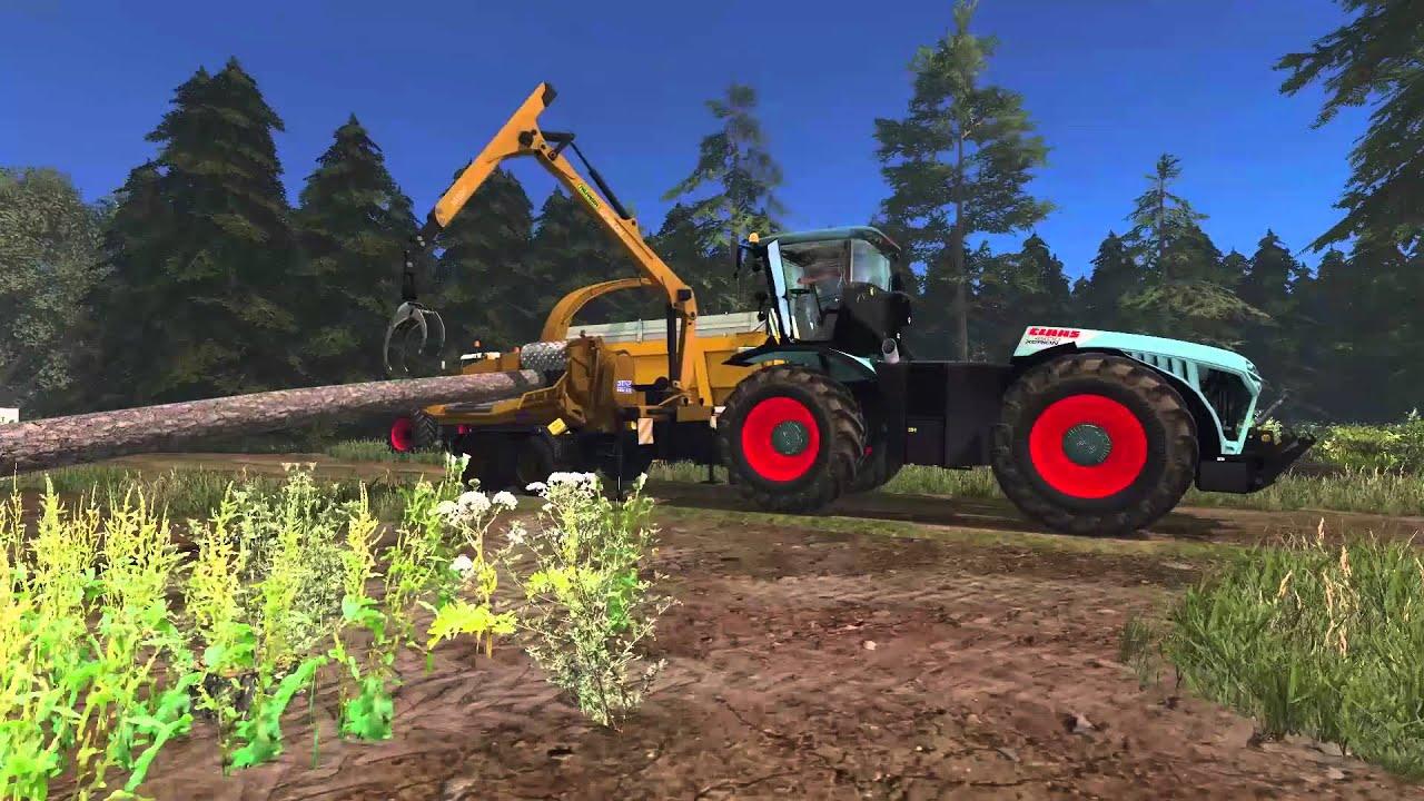 Fs15 abattage broyage de bois hd multi youtube - Broyeuse a bois ...