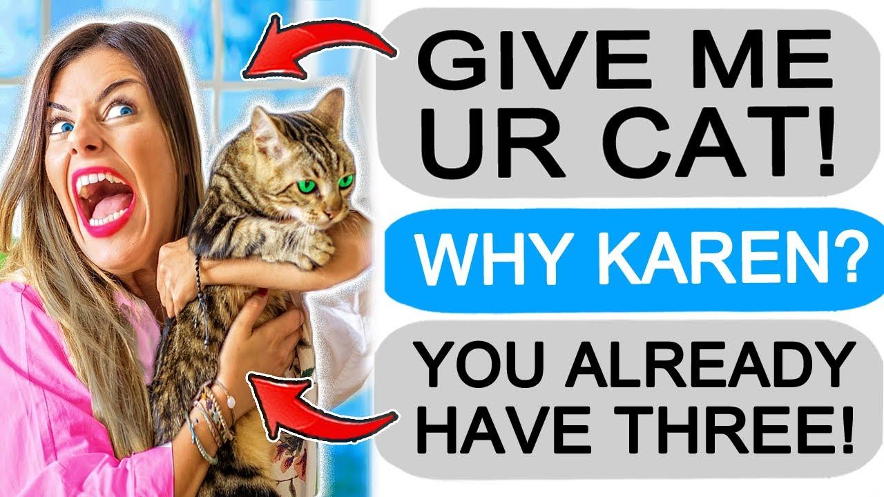 r/Entitledparents Karen Loses it OVER MY CAT, I Get Revenge!