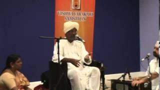 Shri. Tukaram Ganapathi Maharaj - Abhangs and Tamil discourse - June 8, 2014