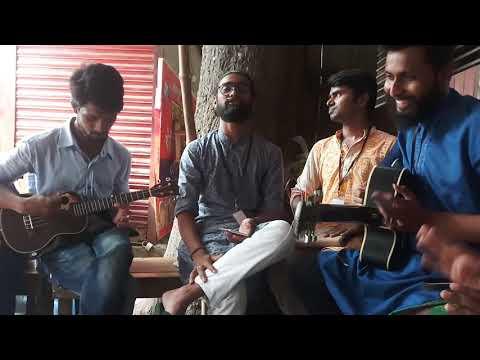 Vab Ache Jar Gay Dekhle Tare Cena Jay/ Sikder Bashudev&kamruzzaman Rabbi With  Chhayanaut Peoples