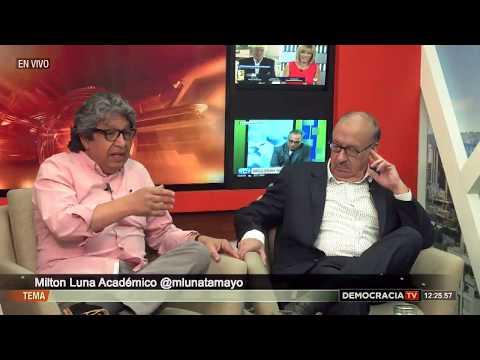 DemocraciaTV: Diálogos con Milton Luna y Rodrigo Tenorio