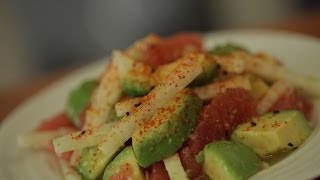 Liesl's Avocado, Pink Grapefruit & Jicama Salad